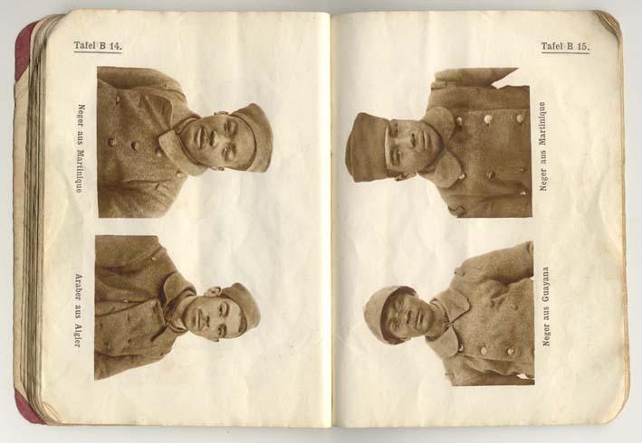 Livret allemand 1917 pour identification Armée Française Fascic14