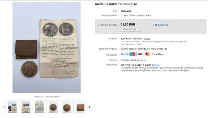 Médaille de Verdun : pochette et notice ! Image212