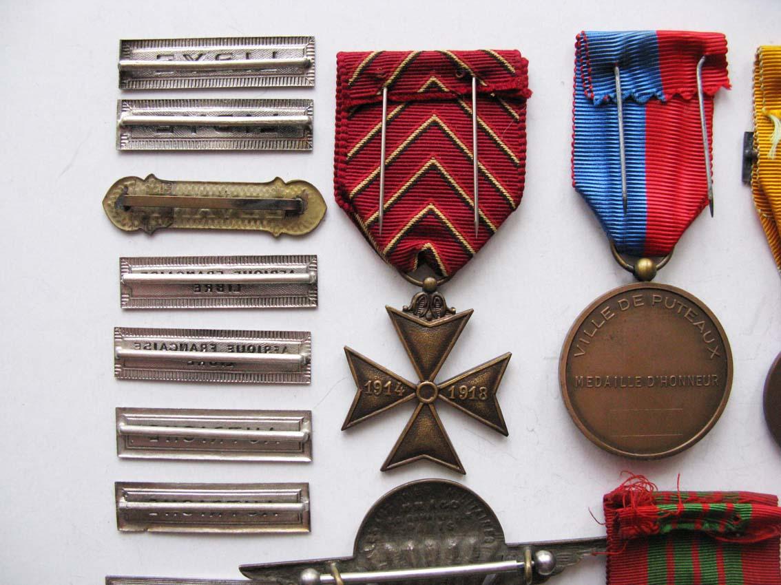 Médailles et agrafes françaises à l'échange Img_2116