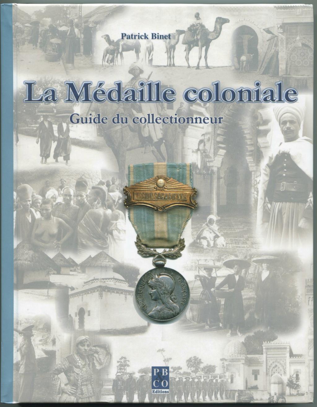 Médaille coloniale ancienne avec ruban d'époque - ESTIMATION  Livre_21