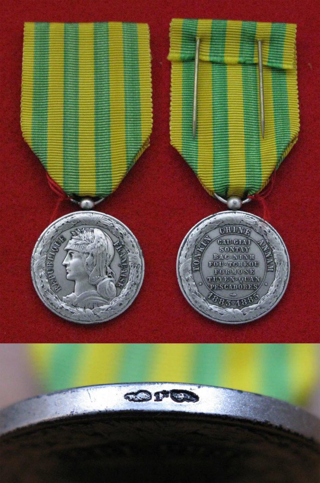 Médaille Tonkin 1883-1885 Mzod_t26