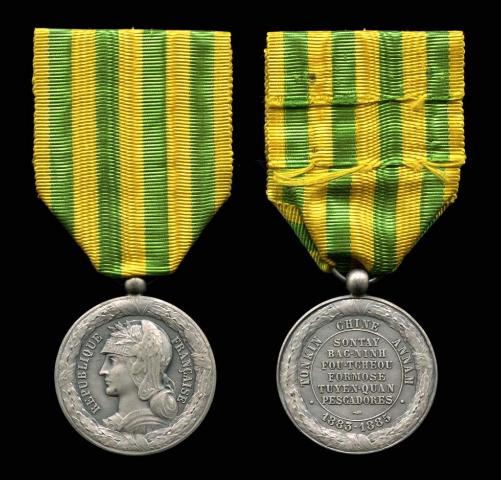Médaille Tonkin 1883-1885 Mzod_t27