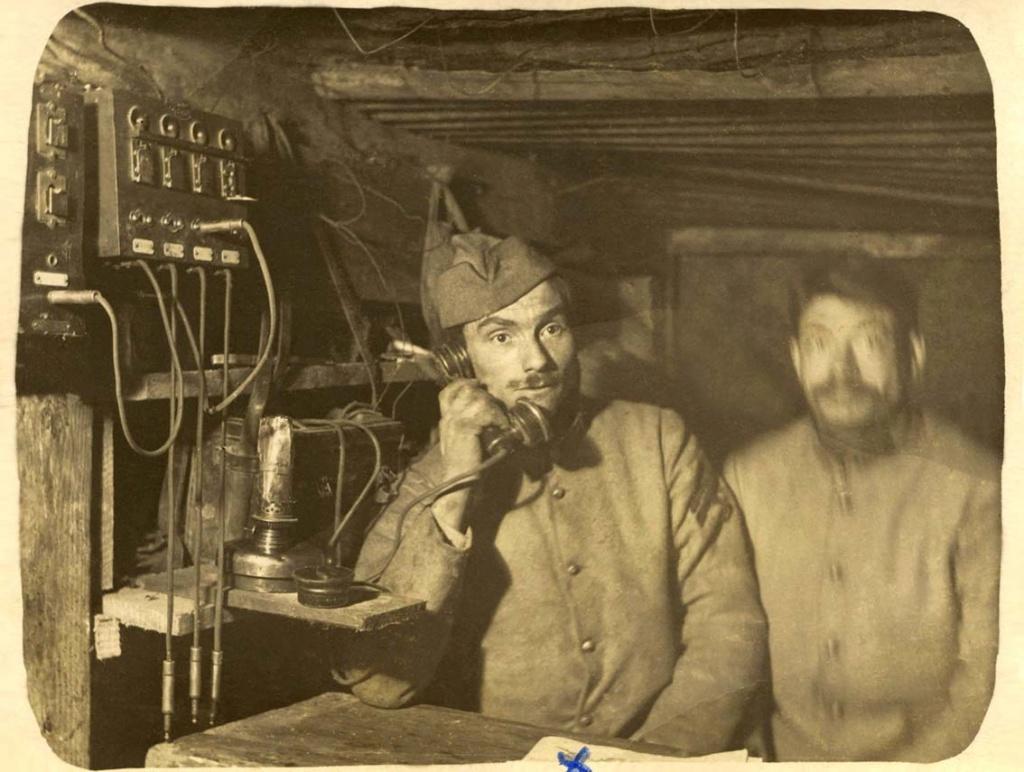 Mon Grand-Père Lucien Brochot Téléphoniste aux 5ème RAP puis 102ème RAL (14-18) Somme_11