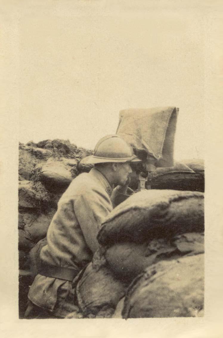 Mon Grand-Père Lucien Brochot Téléphoniste aux 5ème RAP puis 102ème RAL (14-18) Somme_22