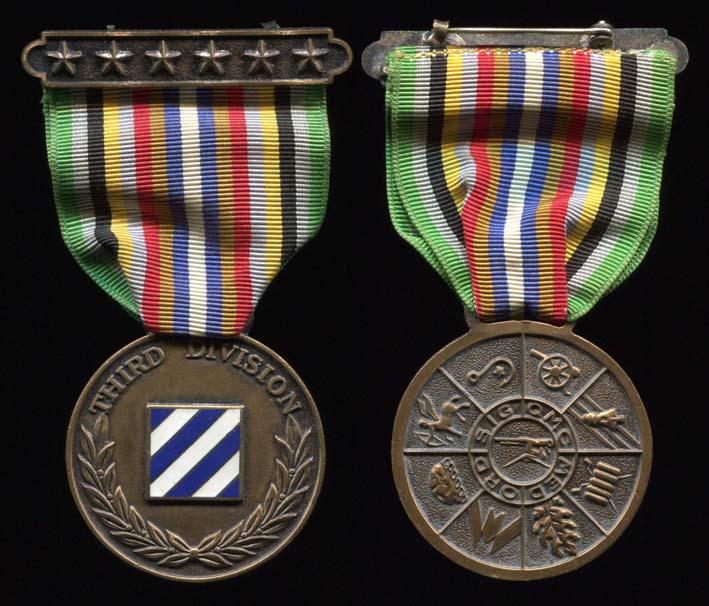 Médaille de la 3ème Division d'Infanterie Usa_3r10