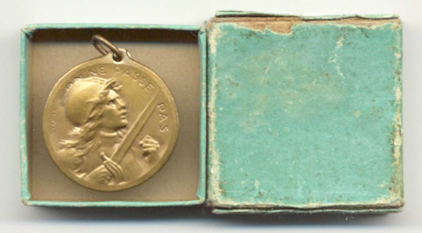 Medaille de verdun Vernie28