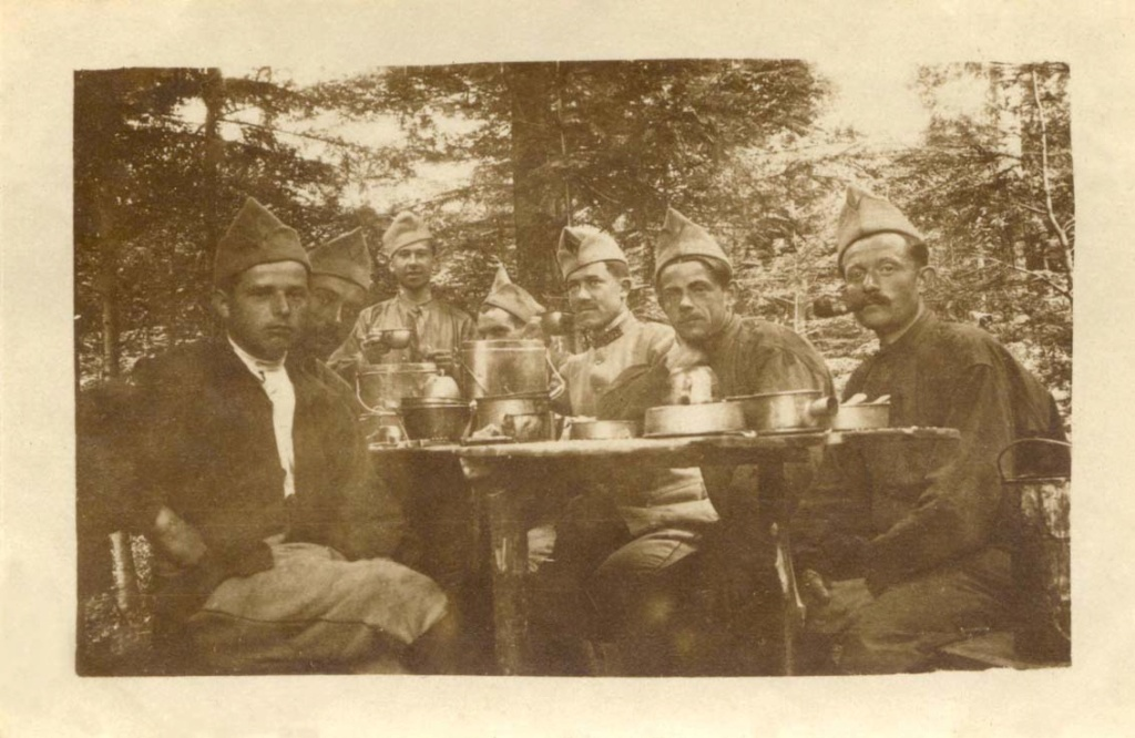 Mon Grand-Père Lucien Brochot Téléphoniste aux 5ème RAP puis 102ème RAL (14-18) Vosges13
