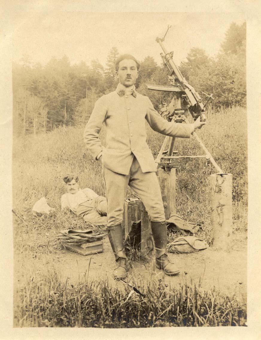 Mon Grand-Père Lucien Brochot Téléphoniste aux 5ème RAP puis 102ème RAL (14-18) Vosges14