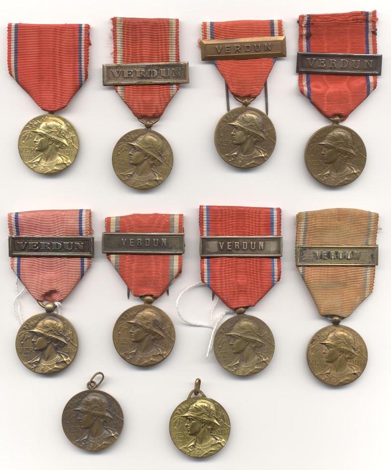 estimation cadre 6 médailles ww1 Za41010