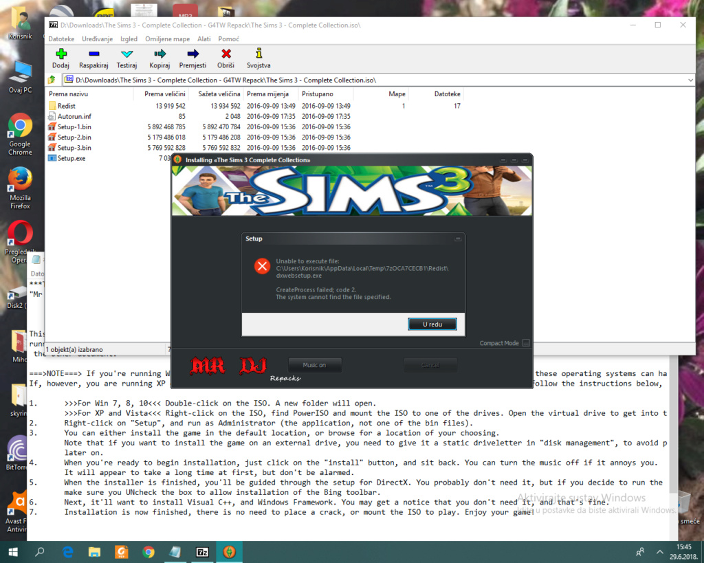 Disc needed for installation? Snimka10