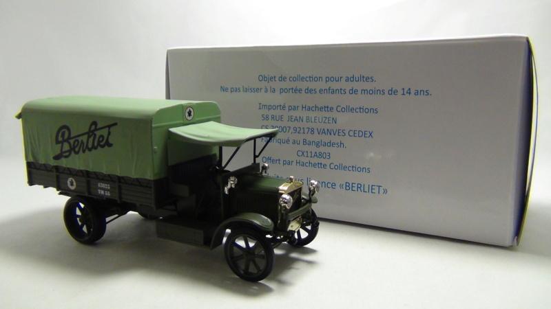 """N°00 - cadeau 4 Berliet Type CBA 1913 bâché  """"Berliet""""   Cadeau10"""
