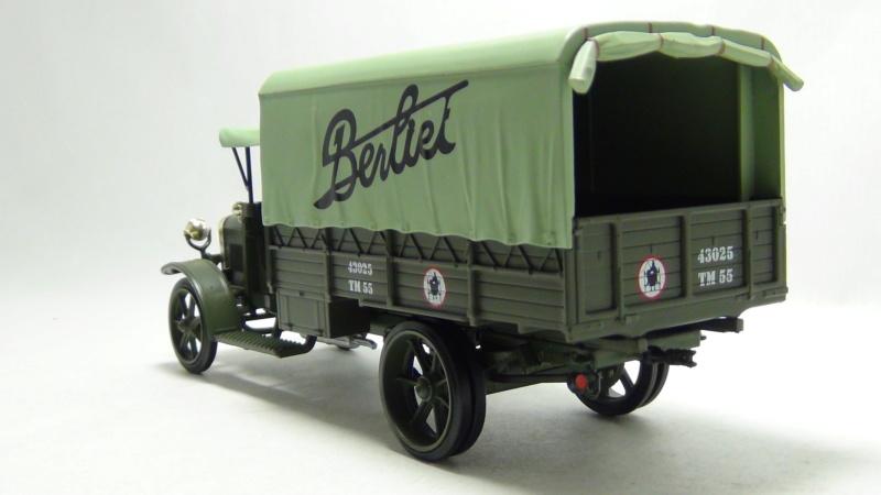 """N°00 - cadeau 4 Berliet Type CBA 1913 bâché  """"Berliet""""   Cadeau12"""