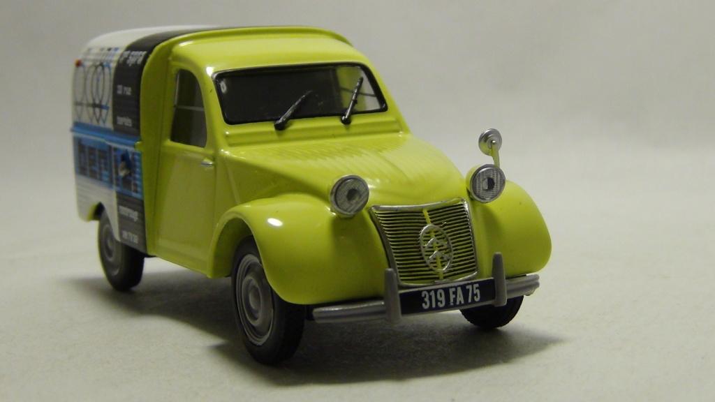 """N°00 - cadeau 4 Citroen 2cv Fourgonnette """"Berliet"""" Hachet11"""