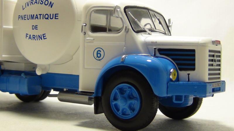 """N°14 - Berliet GLR 8M2 1960  """"Minoterie Clechet""""  N14_be11"""