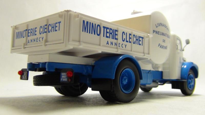 """N°14 - Berliet GLR 8M2 1960  """"Minoterie Clechet""""  N14_be12"""