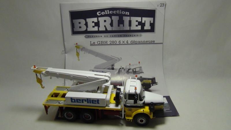 N°23- Berliet GBH 280 6 X 4  Dépanneuse Berliet  1975 / 1986  N23_be10
