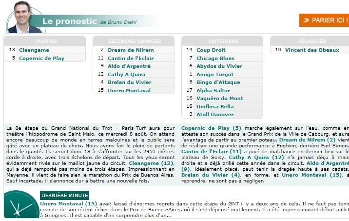 la presse hippique du MERCREDI 8 AOUT  - Page 2 G227