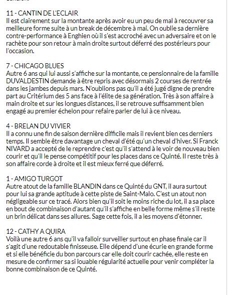 la presse hippique du MERCREDI 8 AOUT  Turfo174