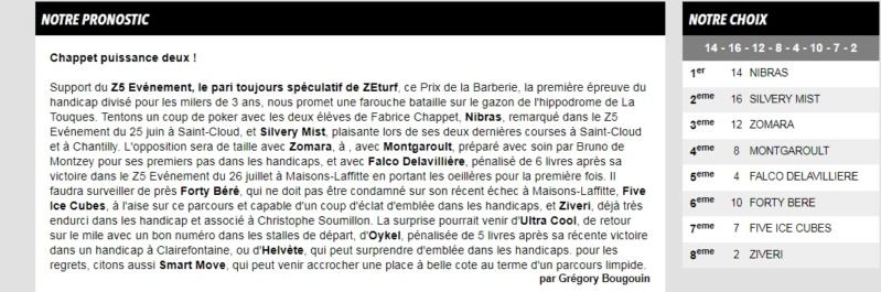 la presse hippique du 21 AOUT  Zeturf61