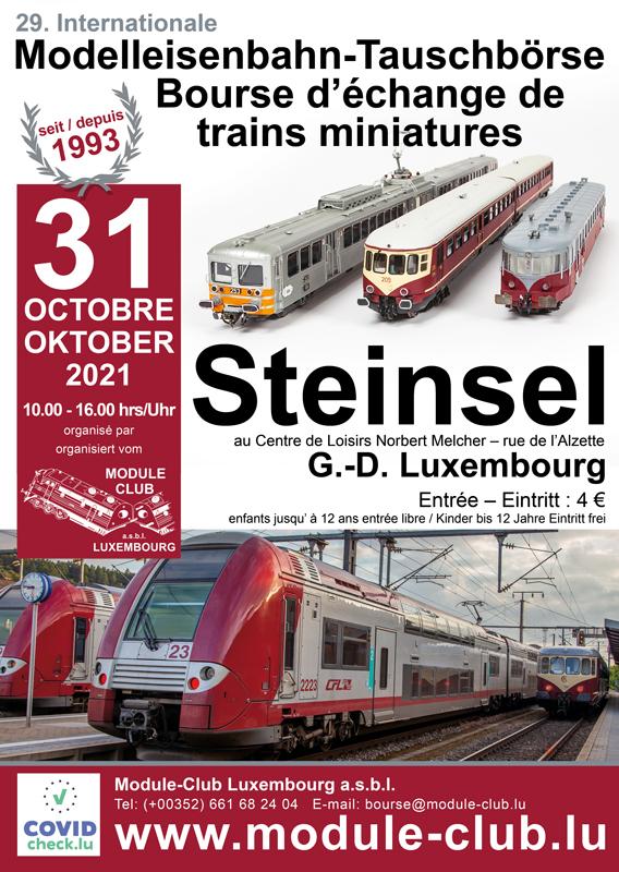 Bourse internationale d´échange de trains miniatures à Steinsel Bourse10