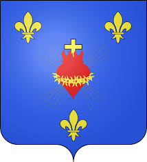 Quel est le l'étendard ou drapeau royal de France ? Blason11