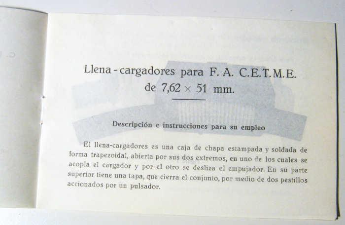 MAQUINA PARA LLENAR CARGADORES CETME B/C  Cop08612