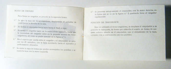 MAQUINA PARA LLENAR CARGADORES CETME B/C  Cop08613