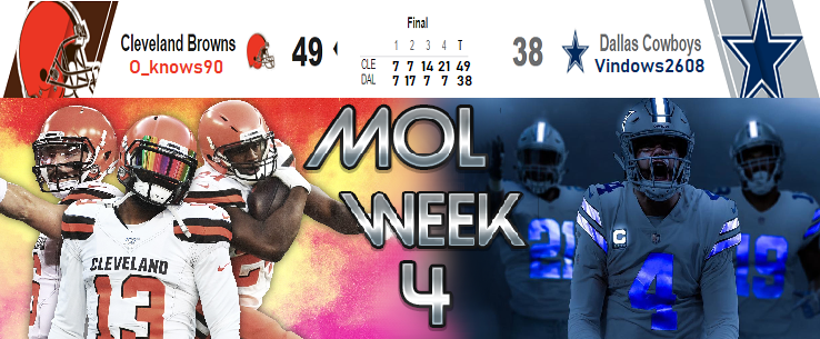 Cleveland Browns @ Dallas Cowboys Week_412