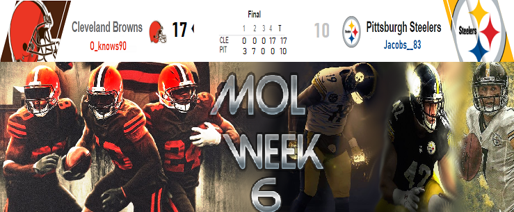Cleveland Browns @ Pittsburgh Steelers Wk512