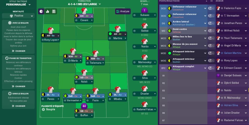 Compositions 29 Journée de Ligue 1 avant Jeudi 12H Lille11