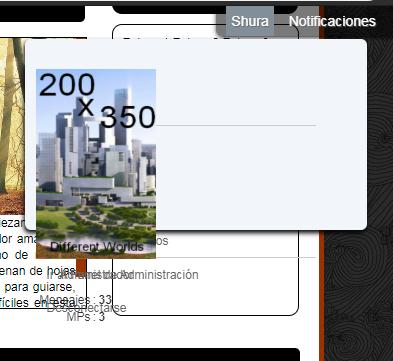 ¿Como estirar el avatar que aparece en la toolbar? Screen35