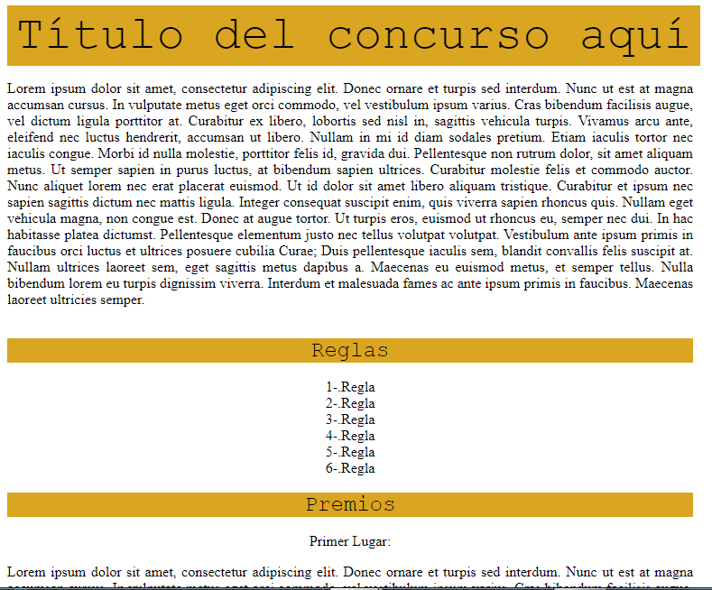 2 - Taller Especializado de Shura [Tablas HTML e Imágenes interactivas] Screen59