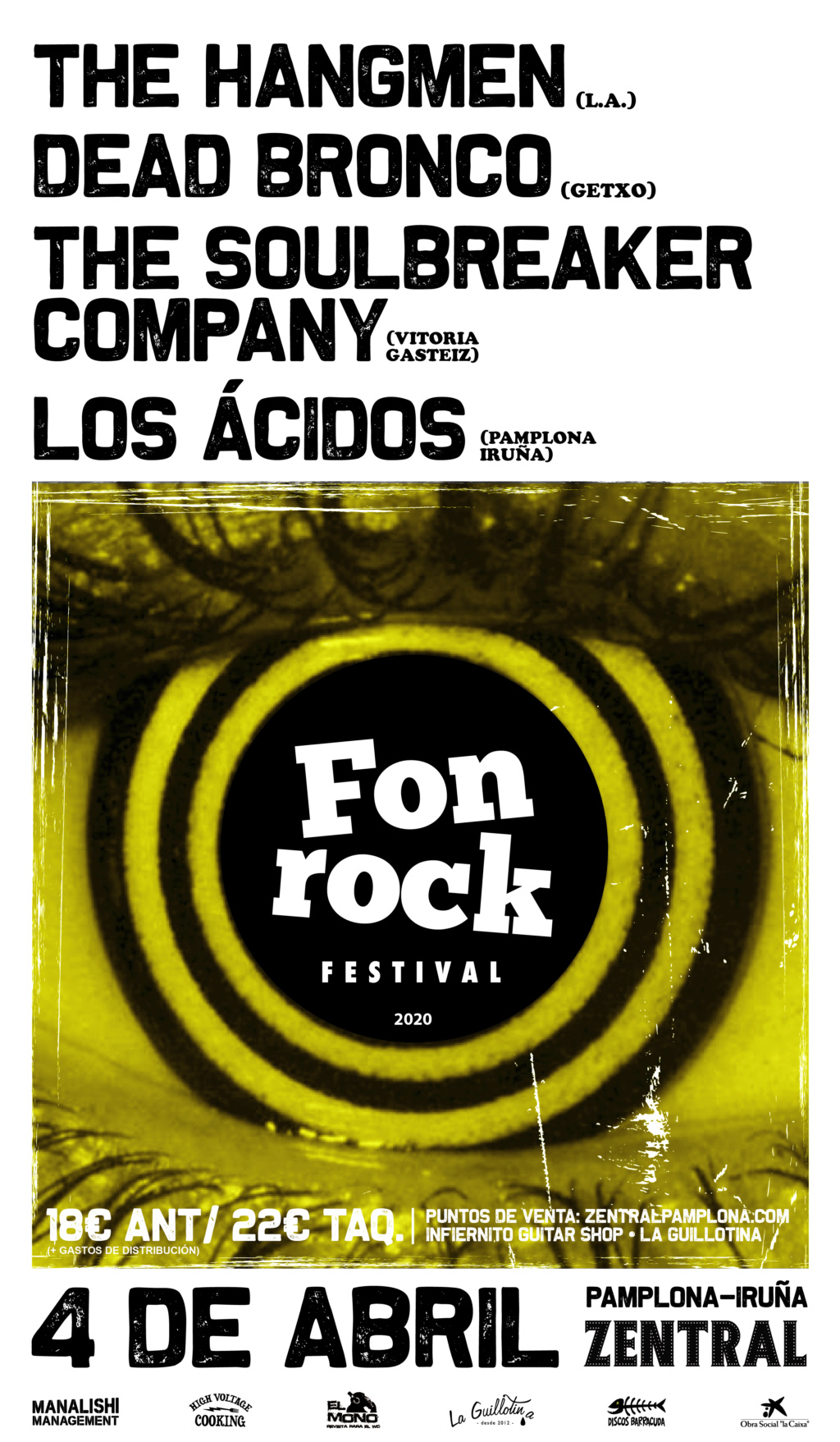 Fonrock 2020:  The Hangmen, Dead Bronco, The Soulbreaker Company & Los Acidos. 4 de abril en Zentral - Página 2 Fonroc10