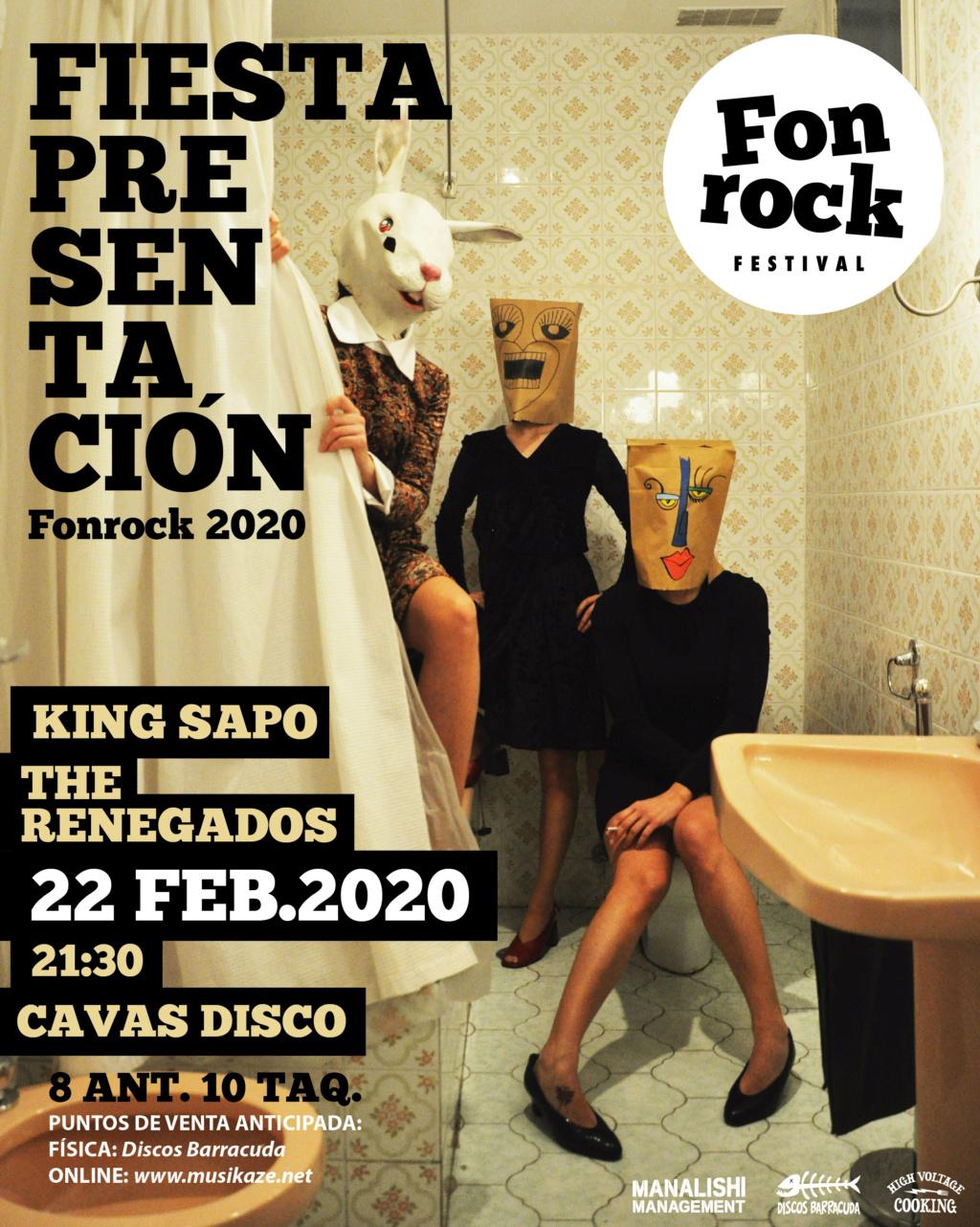 Fonrock 2020:  The Hangmen, Dead Bronco, The Soulbreaker Company & Los Acidos. 4 de abril en Zentral - Página 2 Fonroc14