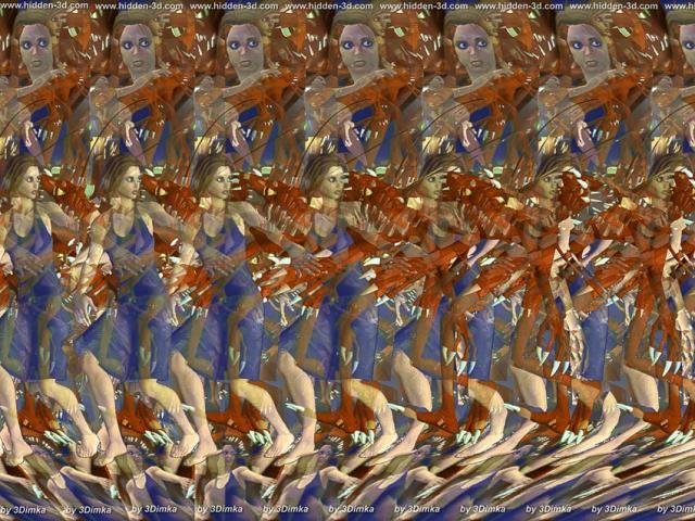 Объёмные картинки или развитие астрального зрения. 107110