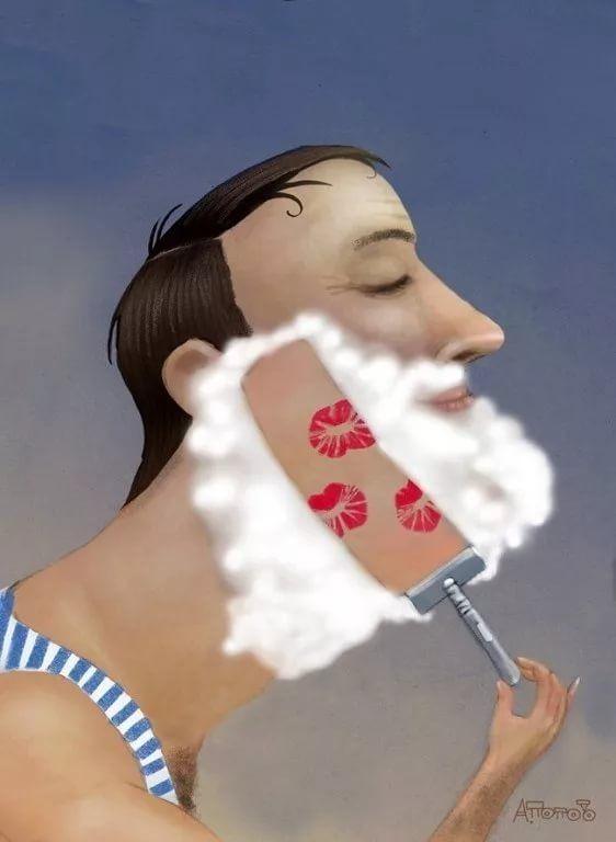 Цікаві фотографії пов'язані з голінням Imgon130
