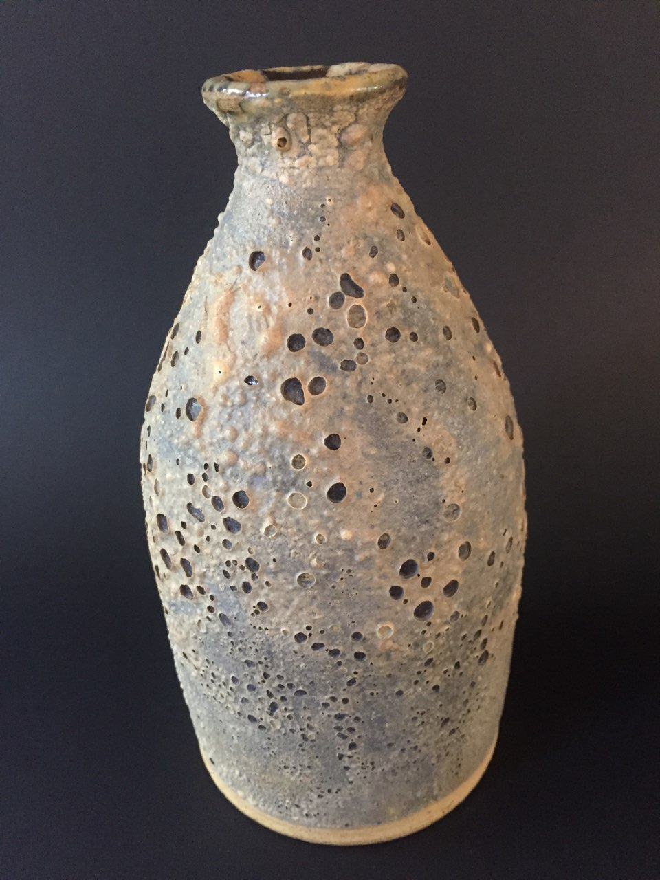 Unusual glaze on vase, signed York. USA. Looking for any information Img_8910