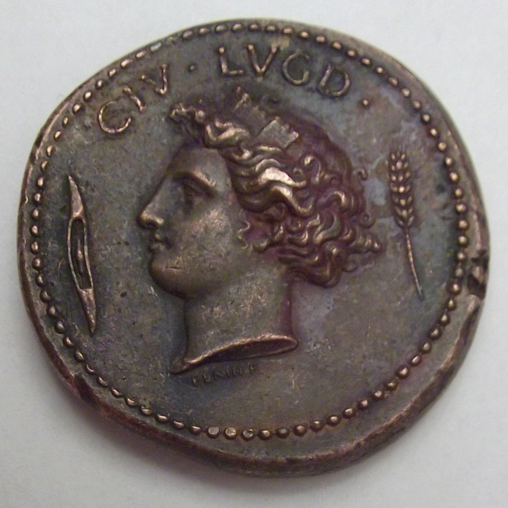 Médaille Revolution 1848 Lyon/Paris ... Cara10