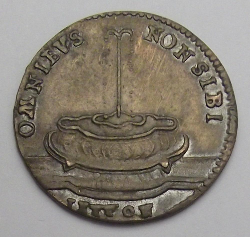 Jeton Louis XVI, OMNIBUS NON SIBI. Feuardent. Cara20