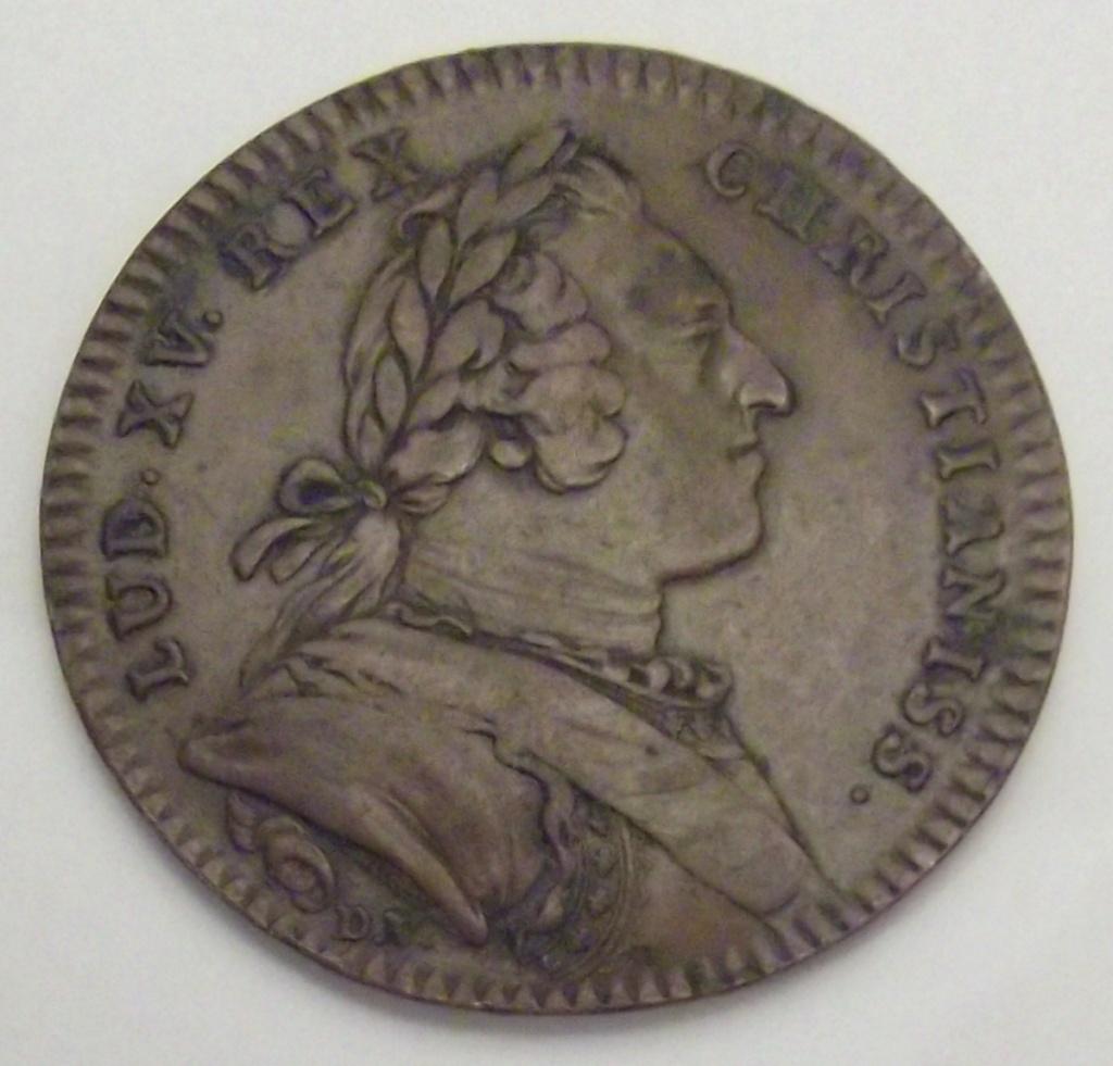 Jeton Louis XV signé D.V. Cara31