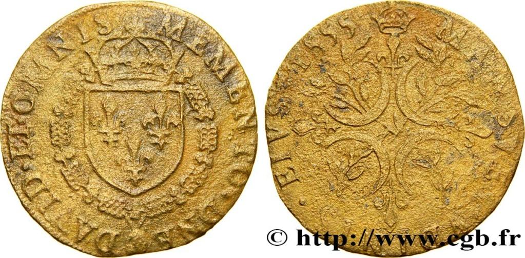 JETON HENRI II 1555 MEMENTO DNE DAVID ET OMNIS Cgbfr10