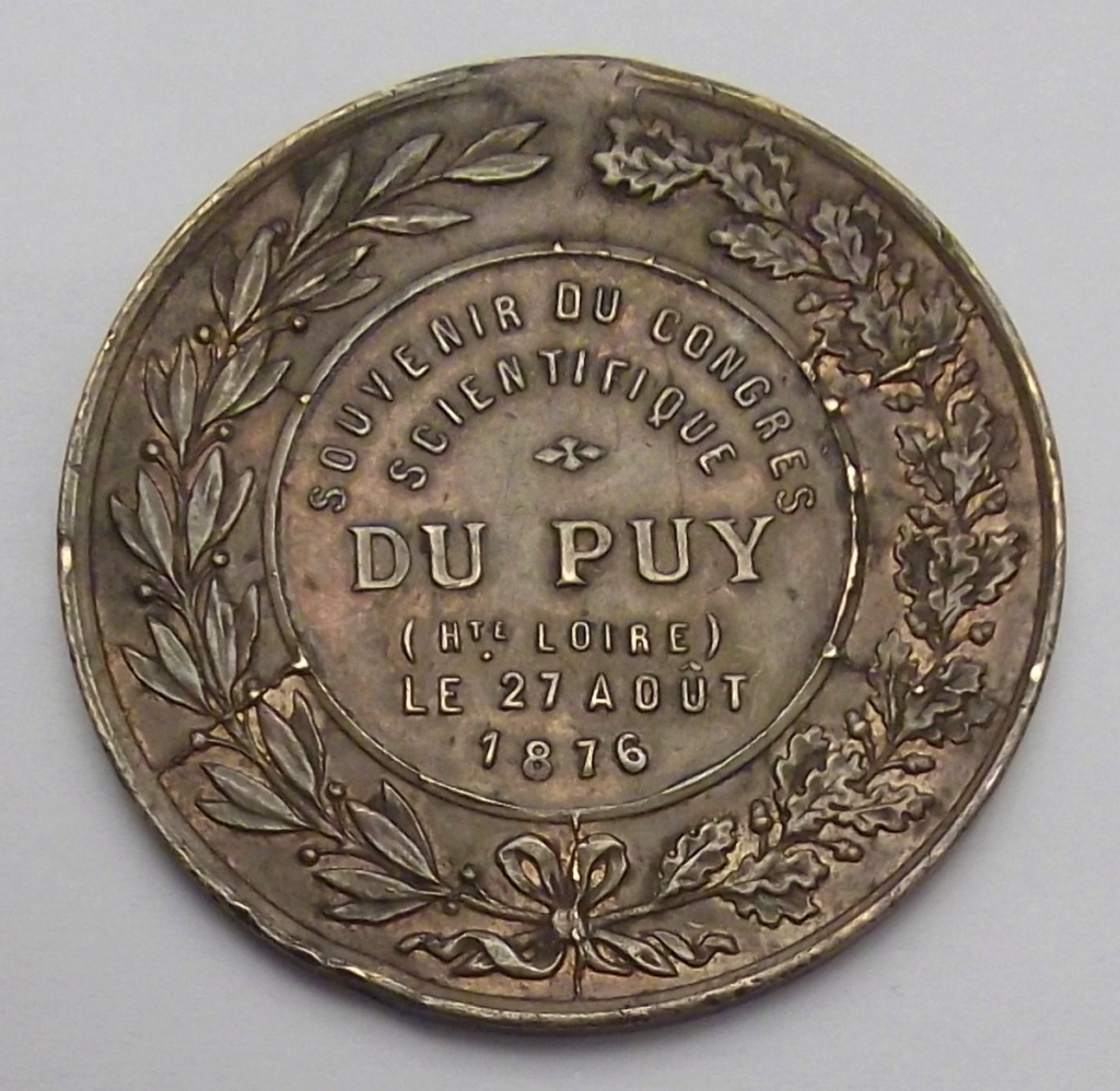 SOUVENIR DU CONGRES SCIENTIFIQUE DU PUY 1876. Cruz19