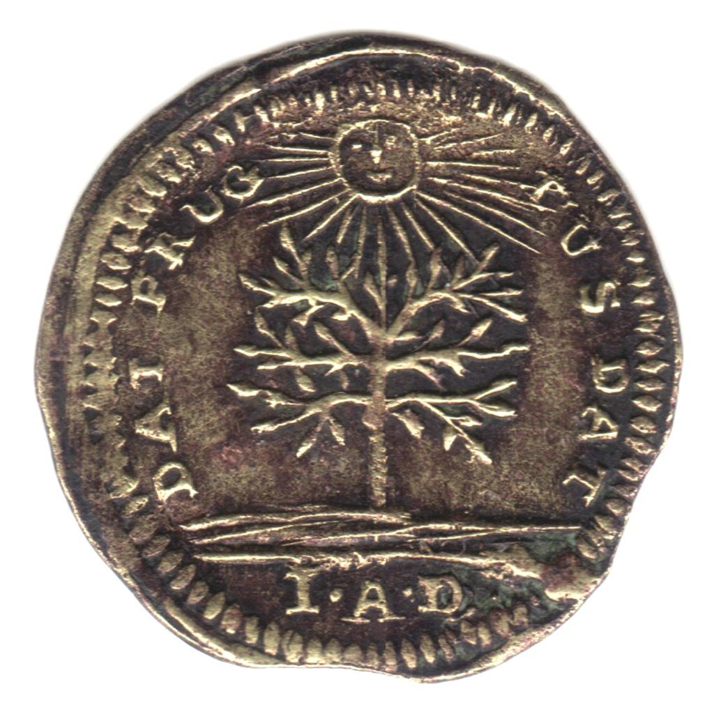 Jeton Nuremberg George II roi de Grande-Bretagne. Cruz31