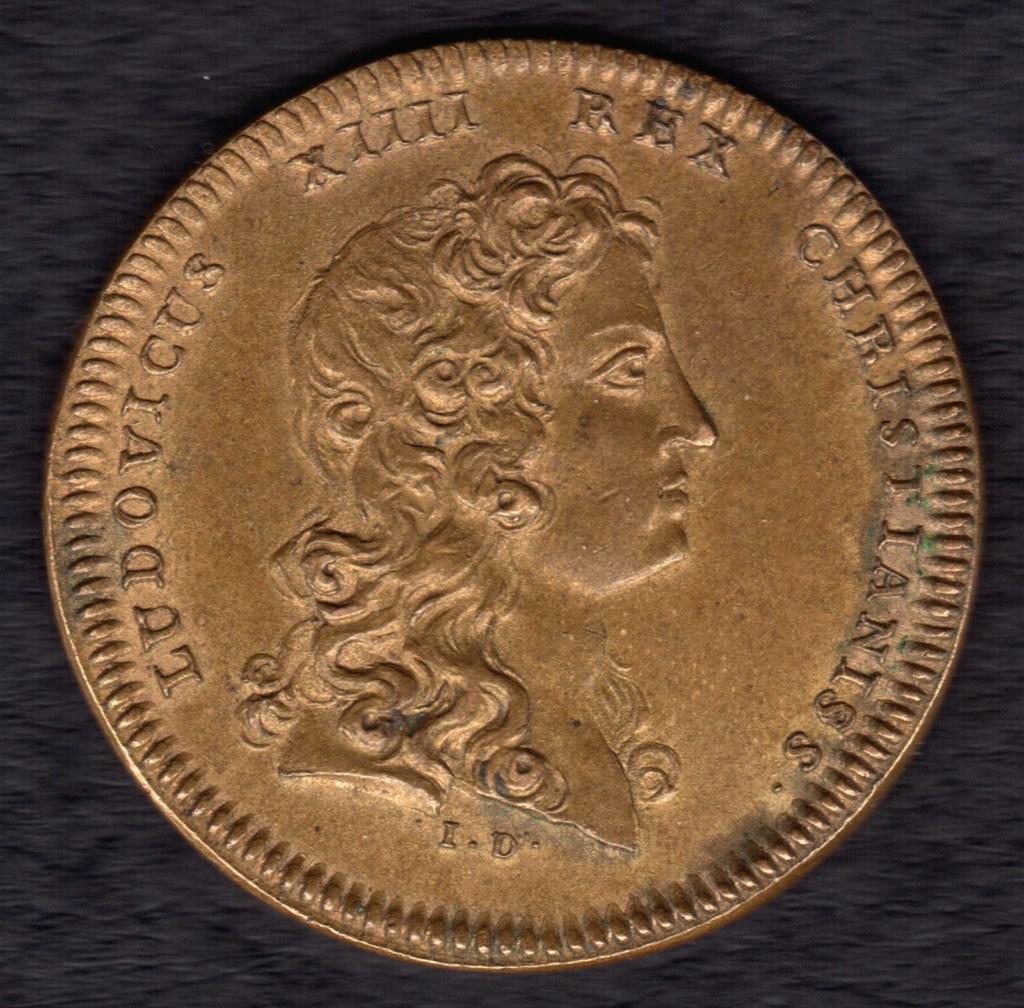 Jeton entrée de la reine à Paris 1660. Cruz_p11