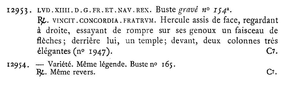 Jeton VINCIT CONCORDIA FRATRUM Libro_10