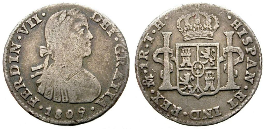 1 Real 1809. Fernando VII. México. Busto imaginario 1_rea_11