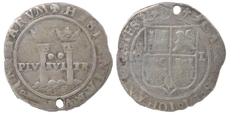 2 Reales México Carlos Y Juana 1542/1555 2_real10