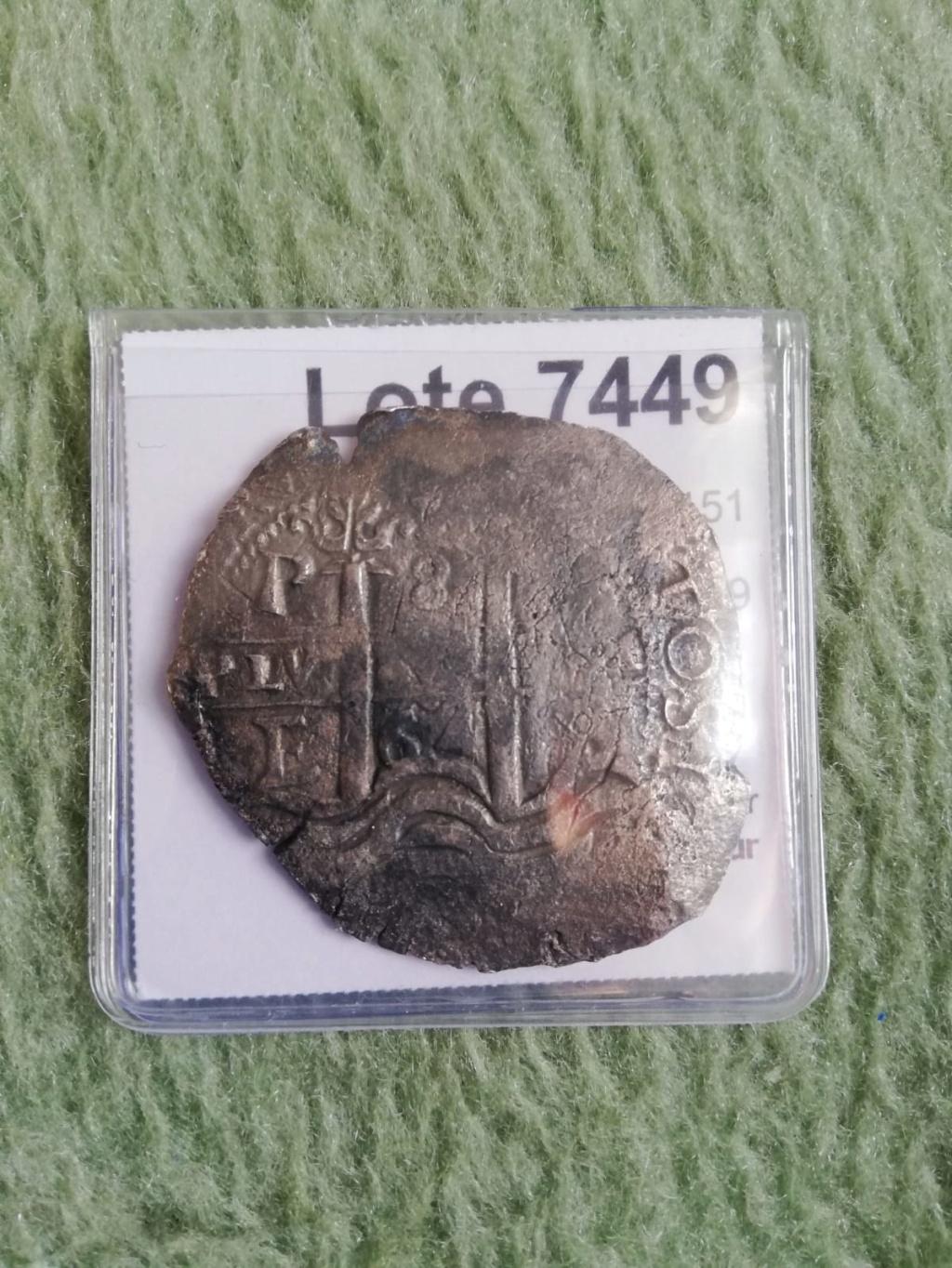 8 Reales Potosi 1664 Felipe IV 7kclkk10