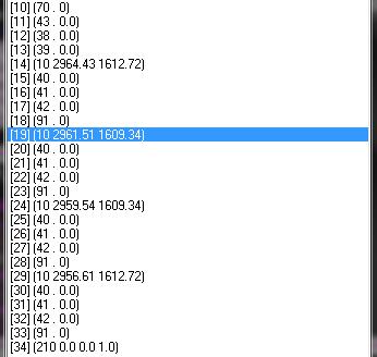 [已解決]請問AutoLisp如何得到單一多線段的每個座標 12312311