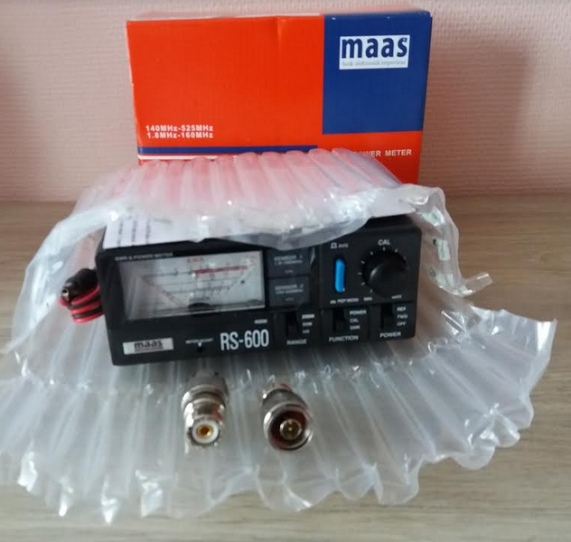 ( VENDUE )SWR & POWER METER - MAAS RS 600 , NEUF !! Maas10
